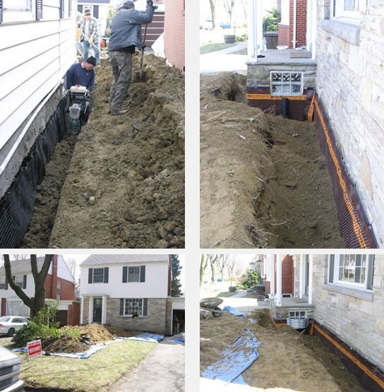waterproofing process